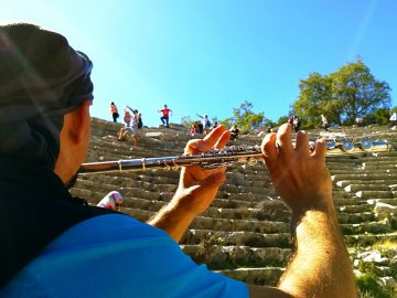 Ancient Cities of Antalya - Cultural Tours termessos-theatre-antalya